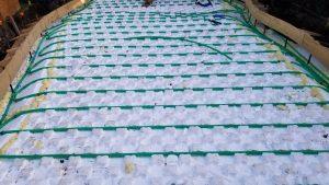 Snow-Melt Installed With Heat-Sheet Heavy
