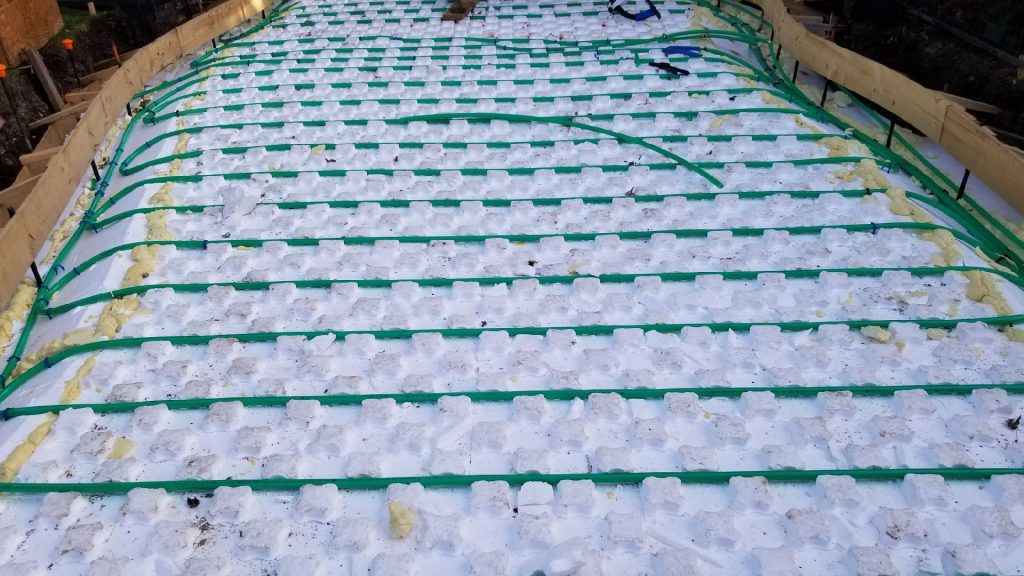 3/4in Pex Pipe for Snow Melt